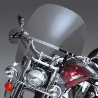 Лобовое стекло SWITCHBLADE 2-Up прозрачное N21107 - Honda VTX 1800/ Yamaha Road Star, Royal Star